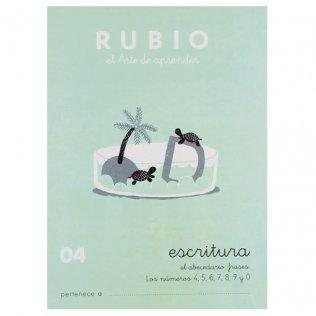Cuadernos Rubio Caligrafía 04