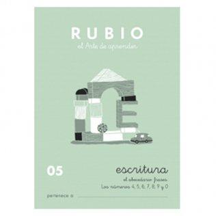 Cuadernos Rubio Caligrafía 05