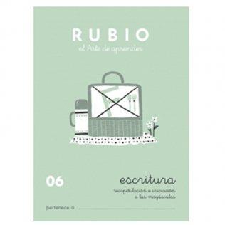Cuadernos Rubio Caligrafía 06