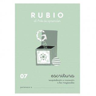 Cuadernos Rubio Caligrafía 07