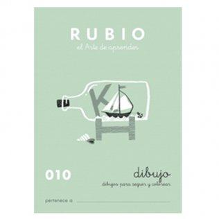 Cuadernos Rubio Caligrafía 010