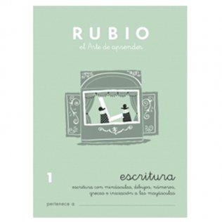 Cuadernos Rubio Caligrafía 1 Primaria