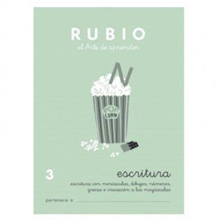 Cuadernos Rubio Caligrafía 3 Primaria