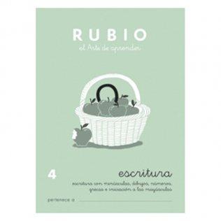 Cuadernos Rubio Caligrafía 4 Primaria