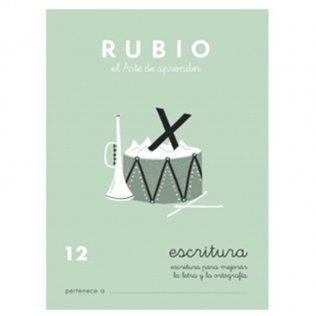 Cuadernos Rubio Caligrafía 12 Primaria