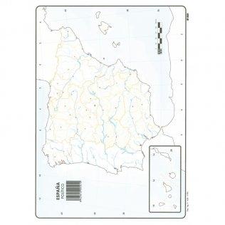 Mapas Mudos España Político