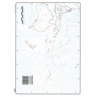 Mapas Mudos Oceania Político