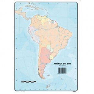 Mapas Mudos America del Sur Político