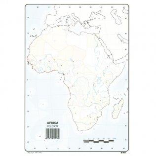 Mapas Mudos Africa Político