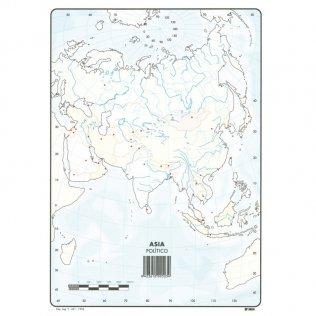 Mapas Mudos Asia Político
