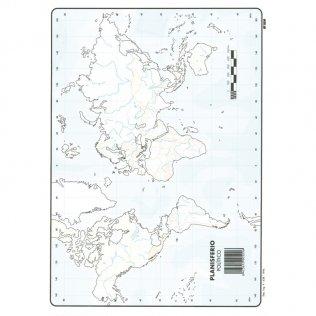 Mapas Mudos Planisferio Político