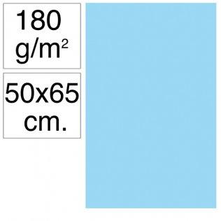 Cartulina Campus 50x65 cm 180 gr azul celeste