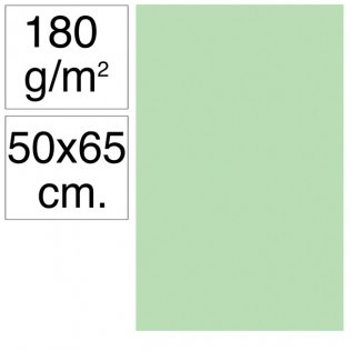Cartulina Campus 50x65 cm 180 gr verde manzana