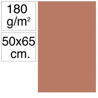 Cartulina Campus 50x65 cm 180 gr marrón