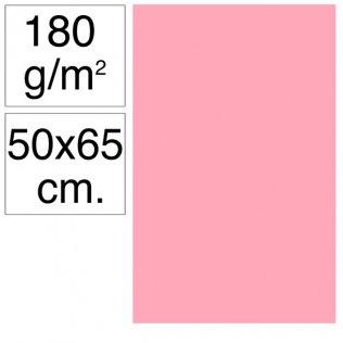 Cartulina Campus 50x65 cm 180 gr rosa