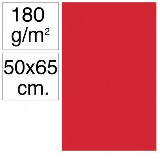 Cartulina Campus 50x65 cm 180 gr rojo