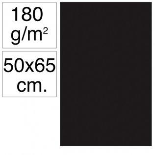 Cartulina Campus 50x65 cm 180 gr negro