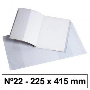 Forro libros hecho PVC nº22 225x530mm 120 micras