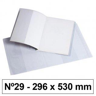 Forro libros hecho PVC Nº29 296x530mm 120 micras