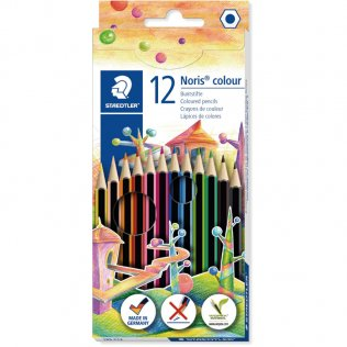 Lápices Noris Colour 12 colores