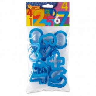 Set 11 moldes de números Jovi