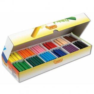 Ceras Jovicolor Pack Escolar 300 unid 12 colores