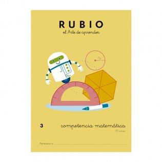 Cuadernos Rubio Competencia Matemática Nº3 - 8 años