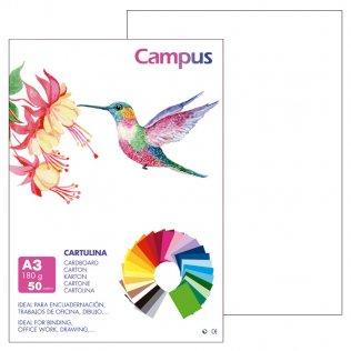 Cartulina Campus A3 180gr Blanco