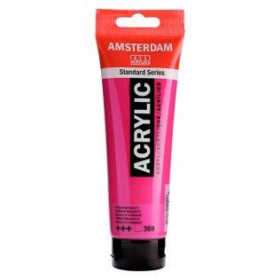 Pintura acrílica Amsterdam 120 ml magenta primario