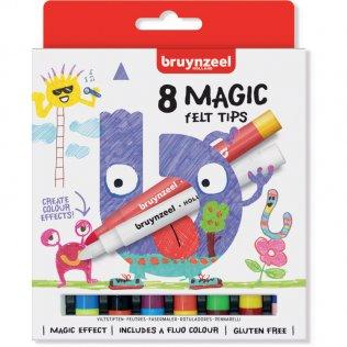 Rotuladores mágicos Bruynzeel 8 colores