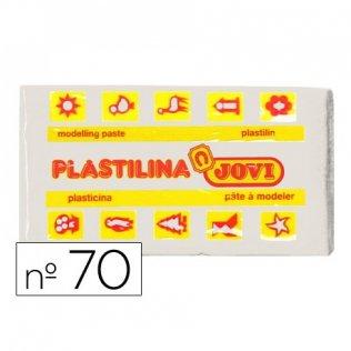 Plastilina Jovi 50gr blanca