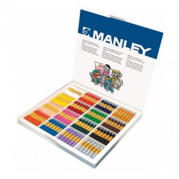 Ceras Manley Pack Escolar 192 ceras 16 colores
