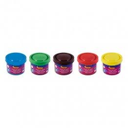 Pintura de dedos Jovi 35ml. Surtido Caja 5 colores