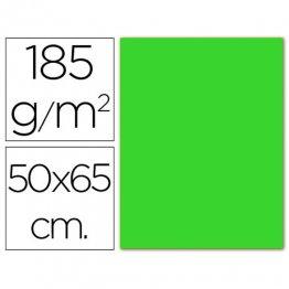 Cartulina Guarro Iris Verde fluorescente 230gr. (pack 25h.)