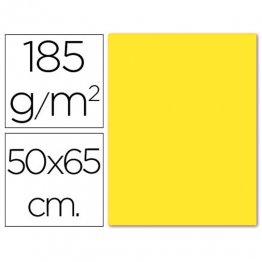 Cartulina Guarro Iris Amarillo fluorescente 230gr. (pack 25h.)