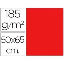 Cartulina Guarro Iris Rojo (pack 25h.) 50x65 cm