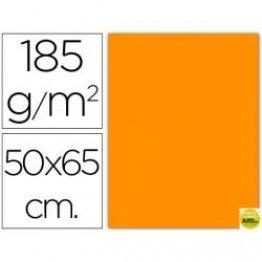 Cartulina Guarro Iris Naranja (pack 25h.) 50x65 cm
