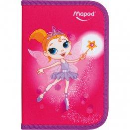 """Plumier escolar Maped 1 piso 31 pzs """"Fairy"""""""