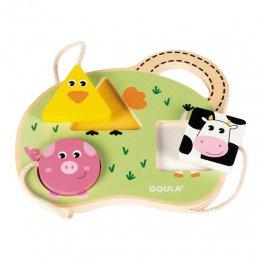 Goula Puzzle 3 animales de granja