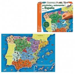 Juego Educativo Diset Provincias España