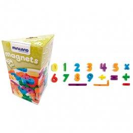 Miniland Números Magnéticos (54 piezas)