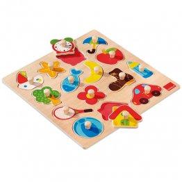 Goula Puzzle Siluetas de madera