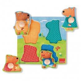 Goula Puzzle familia osos