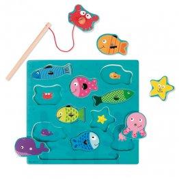 Goula Puzzle pesca magnético