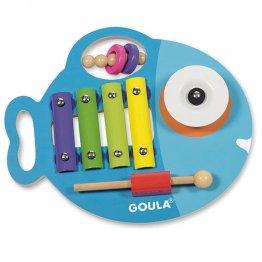 Goula Glupi musical 3 en 1.
