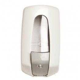 Dosificador blanco de jabón líquido