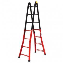 Escalera multiposición aluminio