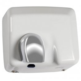 Secador de manos óptico blanco