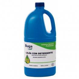 Lejia con detergente 2 litros