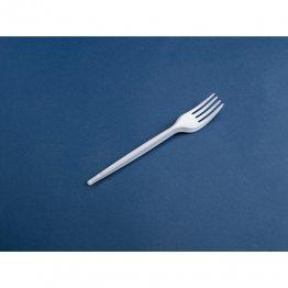 Tenedor de plástico Pack: 100 unid